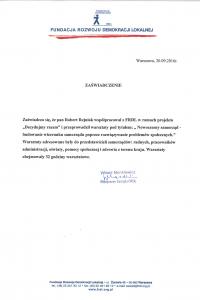 Rekomendacja FRDL-1